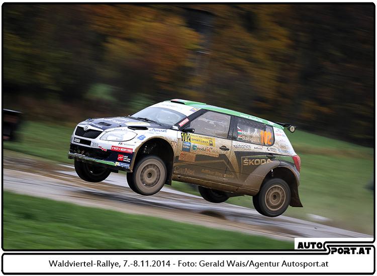 Aus für Norbert Herczig bei der Waldviertel-Rallye 2014 mit Motorschaden - Foto: Gerald Wais/Agentur Autosport.at