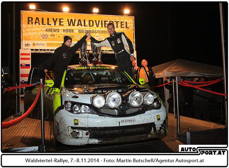 Christian Mrlik: Sieg wie ein Traum - Foto: Martin Butschell/Agentur Autosport.at