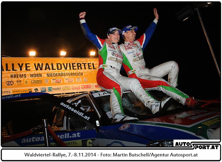 Michael Böhm erfüllte sich der Traum vom zweiten Meisterstreich in Folge - Foto: Martin Butschell/Agentur Autosport.at