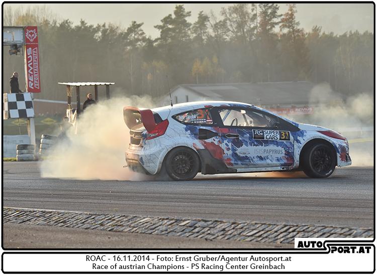 Manfred Stohl läßt Alois Höller beim ROAC 2014 keine Chance - Foto: Ernst Gruber/Agentur Autosport.at