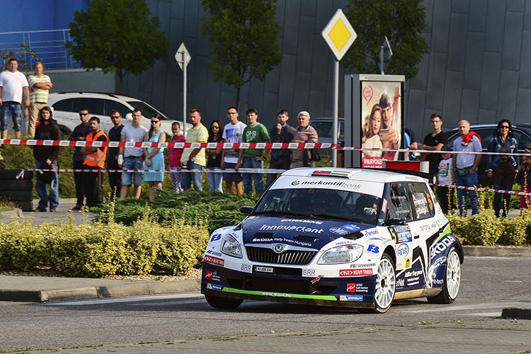 Norbert Herczig auf Skoda Fabia S2000 vom BRR-Team - Foto: Herczig Motorsport