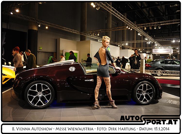 Schöne Aussichten auf die Vienna Autoshow 2015 - Foto: Dirk Hartung/Agentur Autosport.at