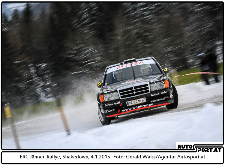 Jänner-Rallye: Der Stern weist den Weg - Foto: Gerald Wais/Agentur Autosport.at