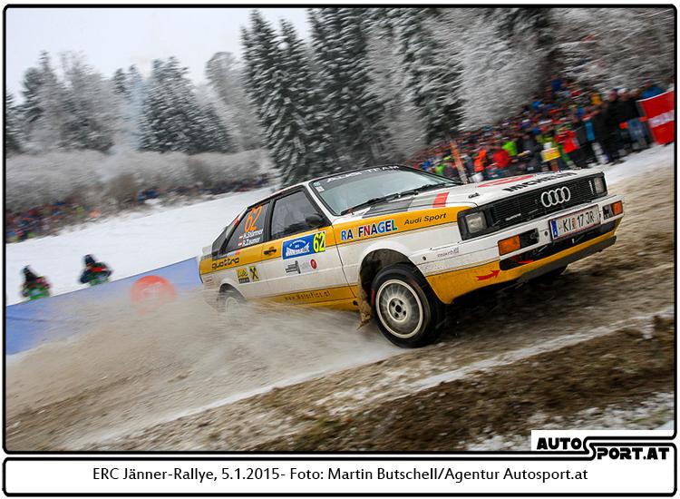 Jänner-Rallye: Stürmers Gipfelsturm - Foto: Martin Butschell/Agentur Autosport.at