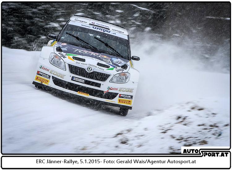 Raimund Baumschlager nach Tag 1 auf dem theoretischen 3. Platz - Foto: Gerald Wais/Agentur Autosport.at