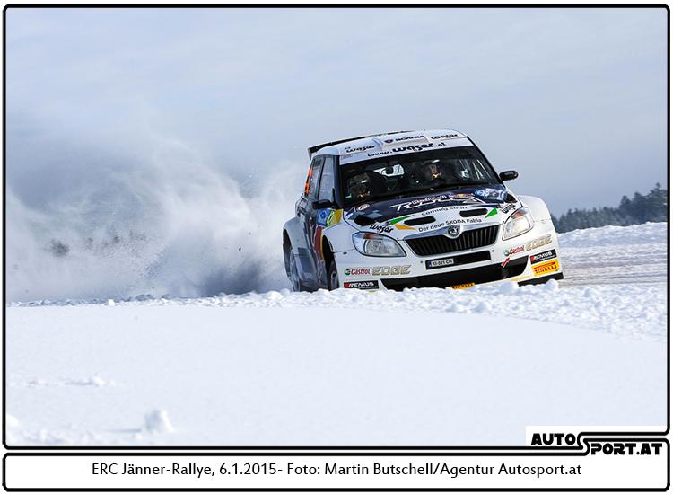 Raimund Baumschlager mit Abstand schnellster Österreicher im Mühlviertel - Foto: Martin Butschell/Agentur Autosport.at