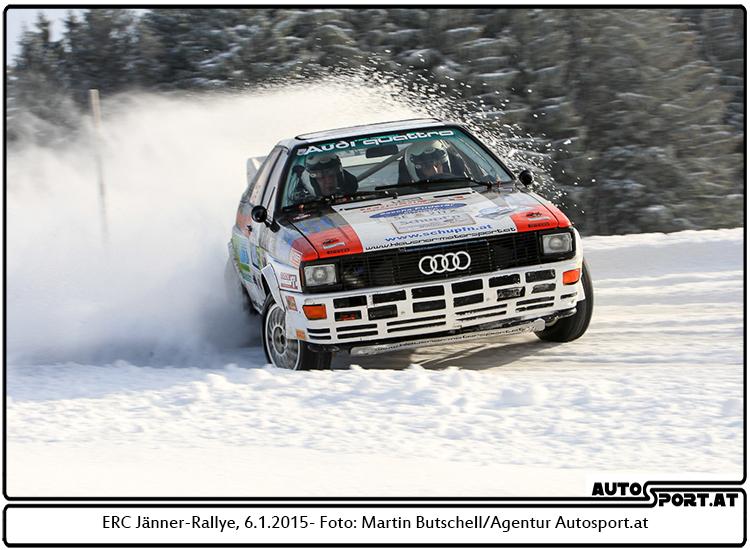 Klausner & die Jänner-Rallye: Maximum Fun – und seine Grenzen - Foto: Martin Butschell/Agentur Autosport.at