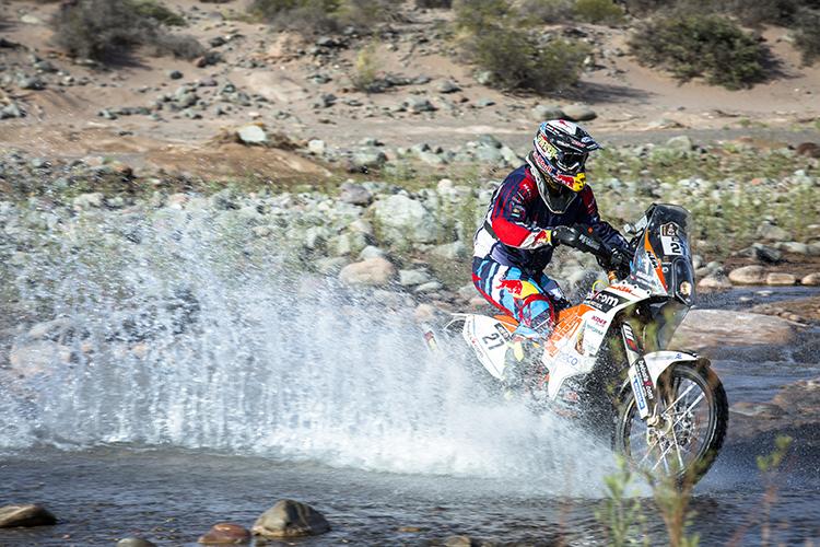 Matthias Walkner gewinnt die 3. Etappe der Dakar 2015 - Foto: Flavien Duhamel/Red Bull Content Pool