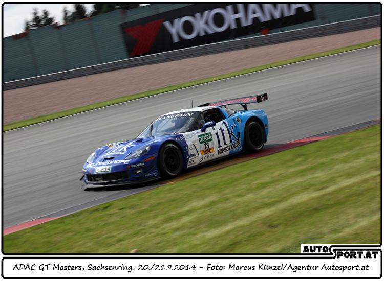 RWT Racing startet mit Corvette in zweite ADAC GT Masters-Saison - Foto: Marcus Künzel / Agentur Autosport.at