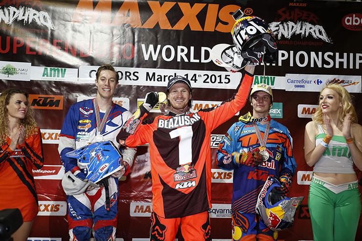 Taddy Blazusiak zum sechsten Mal FIM SuperEnduro Weltmeister - Foto: KTM
