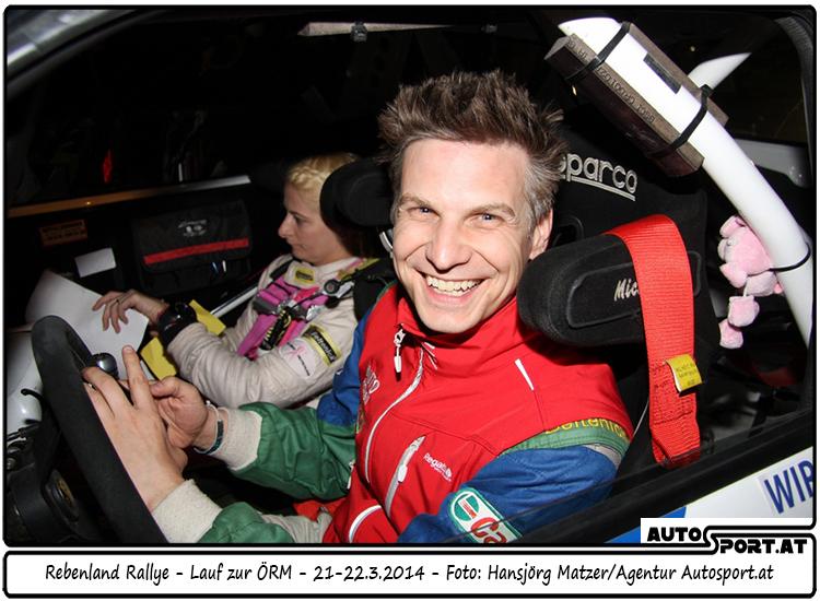 Mit der Teilnahme an der Rebenland-Rallye 2015 beginnt für Michael Böhm und Katrin Becker die Saison, in welcher der 3. Staatsmeistertitel das Ziel ist - Foto: Hansjörg Matzer/Agentur Autosport.at