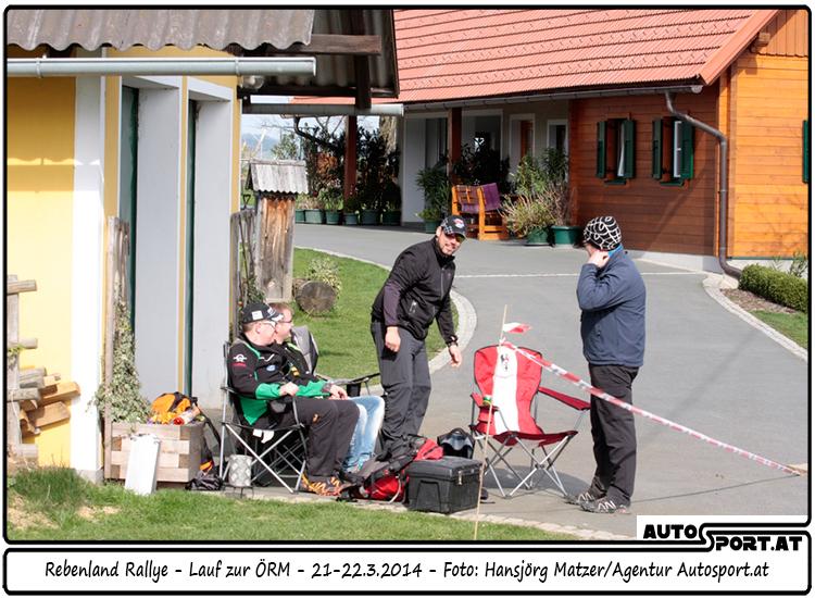 Leutschach ist bereit für die Rebenland-Rallye-2015 - Foto: Hansjörg Matzer/Agentur Autosport.at