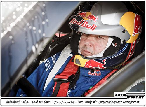 Bisher ist Raimund Baumschlager bei der Rebenland-Rallye noch ungeschlagen - Foto: Benjamin Butschell/Agentur Autosport.at