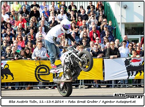 Eine Attraktion auf der bike-austria in Tulln ist das Freigelände - Foto: Ernst Gruber/Agentur Autosport.at