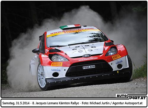 Auch 2015 wird es eine Jacques Lemans Kärnten Rallye geben - Foto: Michael Jurtin/Agentur Autosport.at