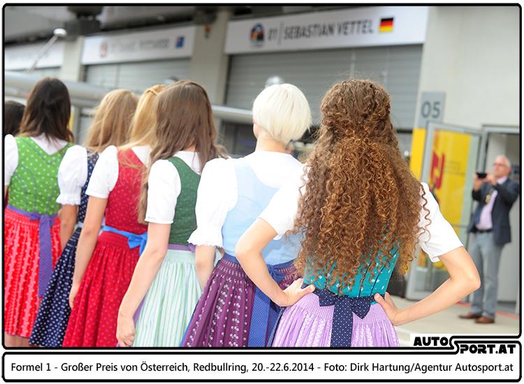Wer darf als Formula Una in die Boxengasse des Formel 1 GP Austria 2015 - Foto: Dirk Hartung/Agentur Autosport.at