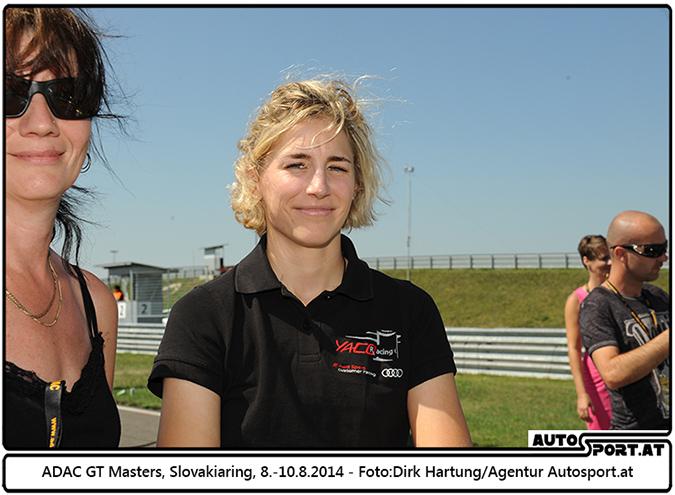 Rahel Frey weiter mit Audi im ADAC GT Masters  - Foto: Dirk Hartung/Agentur Autosport.at