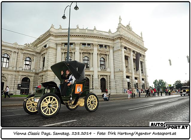 Vienna Classic Days 2015: Verschiebung auf den 22./23. August - Foto: Dirk Hartung/Agentur Autosport.at