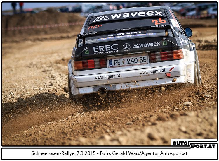 Schwierige Schlacht und verfrühtes Ende für Manfred Hinterreiter - Foto: Gerald Wais/Agentur Autosport.at