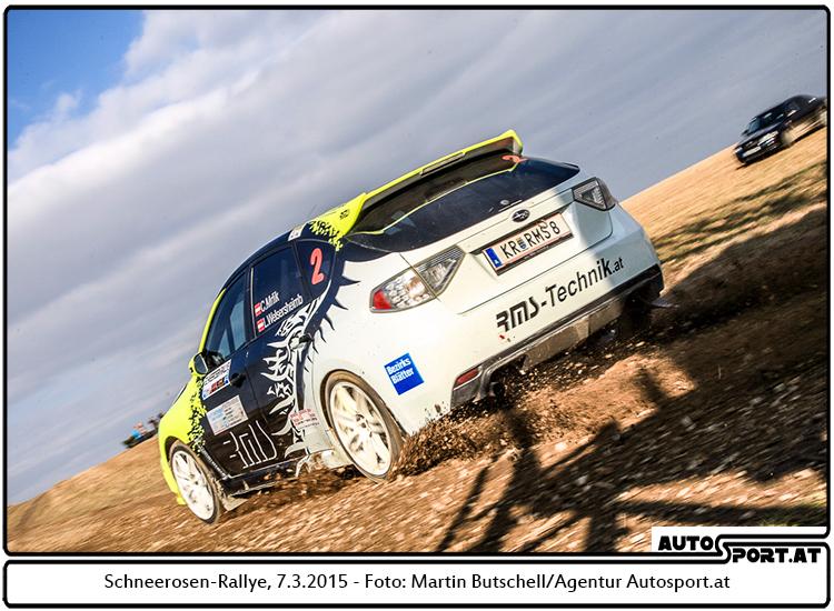 Mrlik führt in der NÖ Rallye Trophy- Foto: Martin Butschell/Agentur Autosport.at
