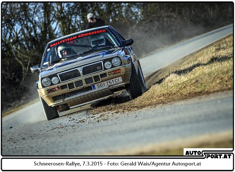 Schneerosen-Rallye: Günther  Königseder gewinnt i historischen Rallyepokal - Foto: Gerald Wais/Agentur Autosport.at