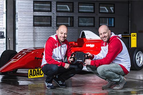 Beim neuen Projekt in der ADAC Formel 4 halten die Brüder Robert und Walter Lechner jun. das Steuer gemeinsam in der Hand. frei zur redaktionellen Verwendung - Foto: Heiko Mandl