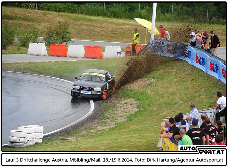Benjamin Klabutschar aus Kilb will beim Saisonauftakt in Melk gleich ordentlich angreifen - Foto: Dirk Hartung/Agentur Autosport.at