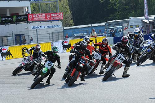 Saisonstart für die Supermoto Austria in Greinbach - Foto: Ernst Gruber/Agentur Autosport.at