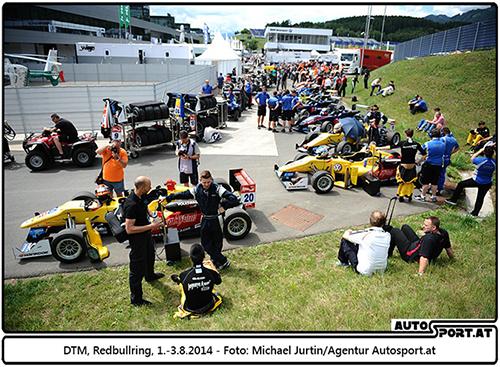 Die FIA F3 steht vor dem Satrt in die Sasion 2015 - Foto: Michael Jurtin/Agentur Autosport.at