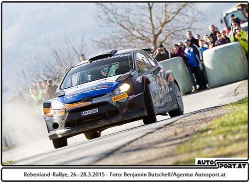 Hermann Neubauer erreicht bei der Rebenland-Rallye eine Top-3-Plazierung - Benjamin Butschell/Agentur Autosport.at