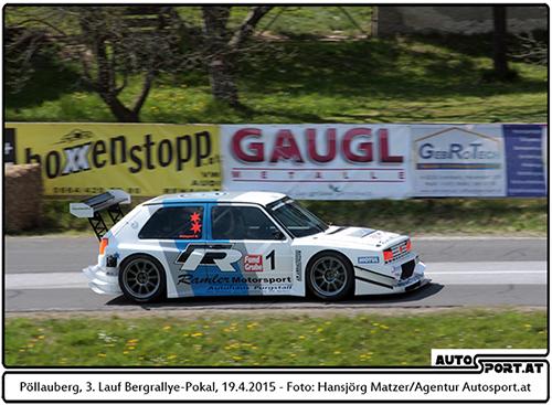 Karl Schagerl ist auch 2015 eine Klasse für sich - Foto: Hansjörg Matzer/Agentur Autosport.at