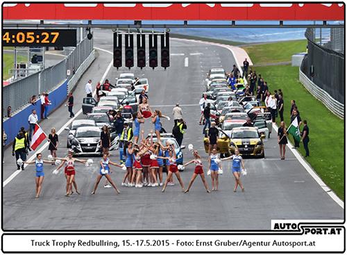 Große Show für die kleinen Suzukis - Foto: Ernst Gruber/Agentur Autosport.at