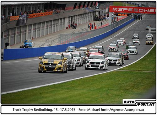 Der Suzuki Cup überzeugt durch große Starterfelder - Foto: Michael Jurtin/Agentur Autosport.at