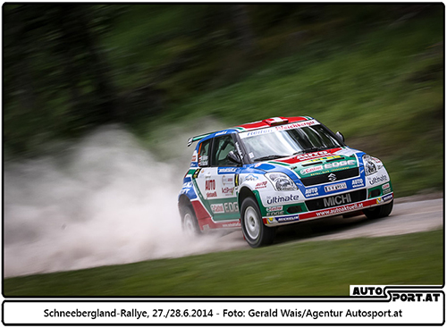 Auch 2015 jede Menge Schotter bei der Schneebergland-Rallye - Foto: Gerad Wais/Agentur Autosport.at