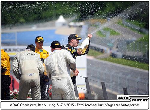 Grasser Racing mit dem neuen Lambo zum Heimsieg in Spielberg - Foto: Michael Jurtin/Agentur Autosport.at