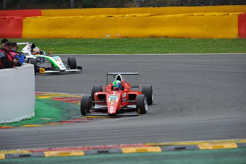 ADAC Formel 4: Florian Jantis kratzt in Spa-Francorchamps erneut an den Top 10 - Foto: Michael Perey/Agentur Autosport.at