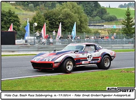 Amanda Hennessy - amerikanische Rennsport-Amazone im Histo-Cup Austria - Foto: Ernst Gruber/Agentur Autosport.at