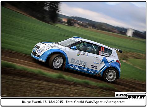 Wolfgang Rehberger startet am 28./29. August mit Co-Pilotin Vera Hinteramskogler bei der Niederbayern Rallye - Gerald Wais/Agentur Autosport.at