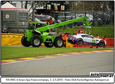 Young Driver AMR startet beim WEC-Debüt auf dem Nürburgring - Foto: Dirk Fuchs/Agentur Autosport.at