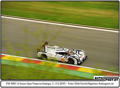 Porsche bestätigt LMP1-Programm bis einschließlich 2018 - Foto: Dirk Fuchs/Agentur Autosport.at