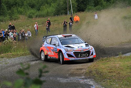 Dani Sordo in Finnland auf Platz 11 - Foto: Martin Butschell/Agentur Autosport.at