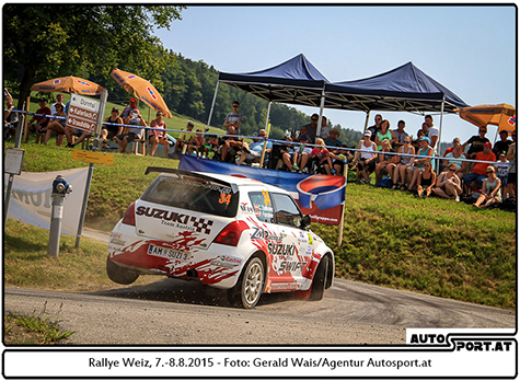 Christoph Zellhofer starten neben der Liezen-Rallye auch erstmals international bei der Barum-Rallye - Gerald Wais/Agentur Autosport.at