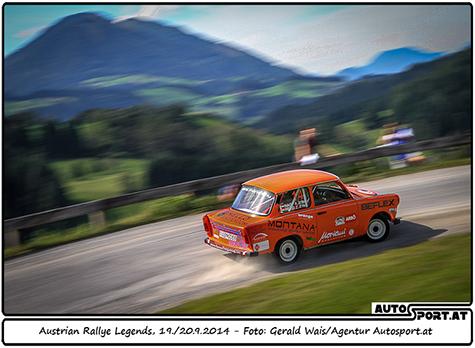 Bereits 2014 überzeugte die Austrian Rallye Legends - Foto: Gerald Wais/Agentur Autosport.at