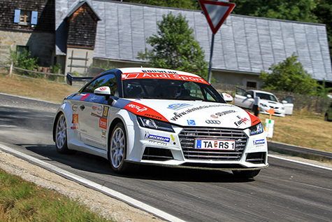 Reini Sampl von der Niederbayern-Rallye direkt nach Liezen - Foto: Michael Butschell/Agentur Autosport.at