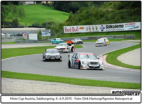 Tourenwagen-Revival als zusätzliches Highlight beim Bosch-Race 2015 - Foto: Dirk Hartung/Agentur Autosport.at