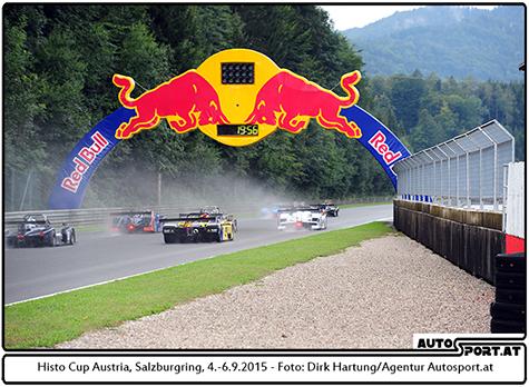 SCC Salzburgring 2015 - nicht das schönste Wetter - Foto: Dirk Hartung/Agentur Autosport.at