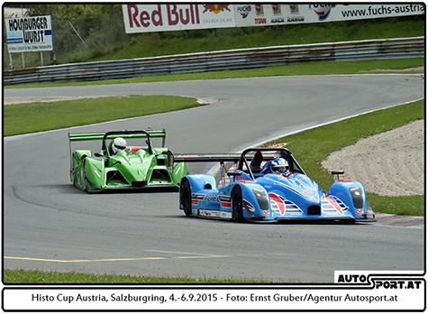Siegmar Pfeifer gewinnt den ersten Lauf auf dem Salzburgring - Foto: Ernst Gruber/Agentur Autosport.at