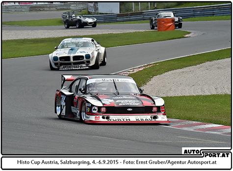 Peter Mücke vor Roger Bollinger sorgen für Motorendonner auf dem Salzburgring - Foto: Ernst Gruber/Agentur Autosport.at