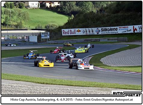 Formel Historic - Foto: Ernst Gruber/Agentur Autosport.at