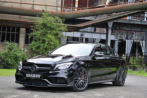 Brabus Mercedes C 63S: 600 Pferdestärken, 800 Nm und 300 km/h - Foto: Brabus